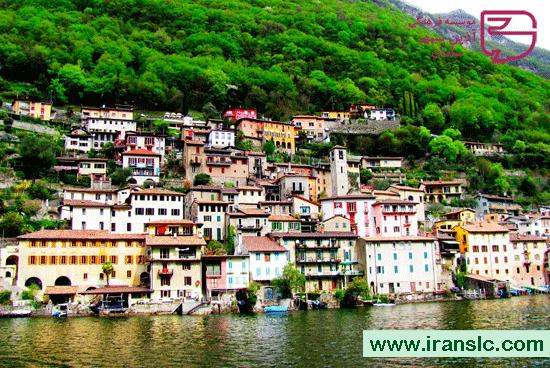 شهر لوگانو در سوئیس