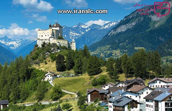 دهکده های زیبای سوئیس