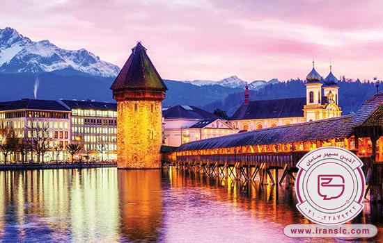 طبیعت گردی در سوئیس
