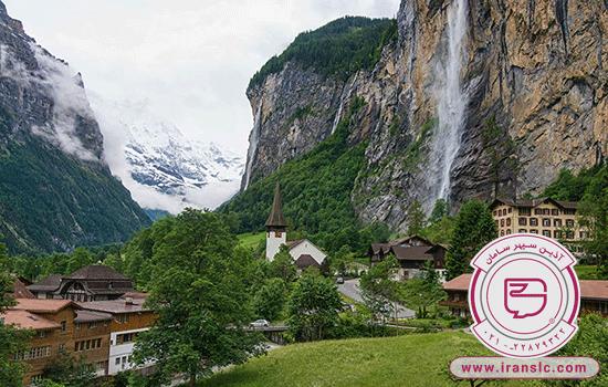 مکان های گردشگری سوئیس